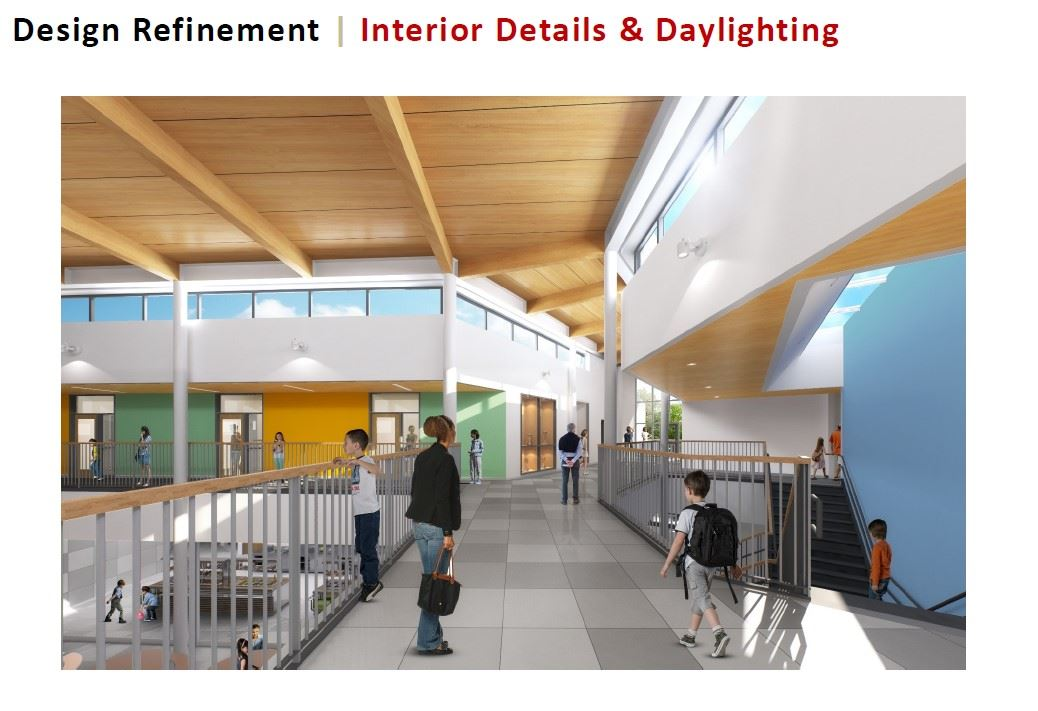 Interior Details & Daylighting-New Mansfield Elementary