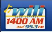 Logo of WILI Radio, Willimantic