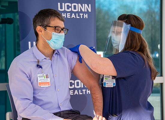 UCONN Health offers Vaccines in Storrs