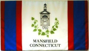 Mansfield Connecticut Flag