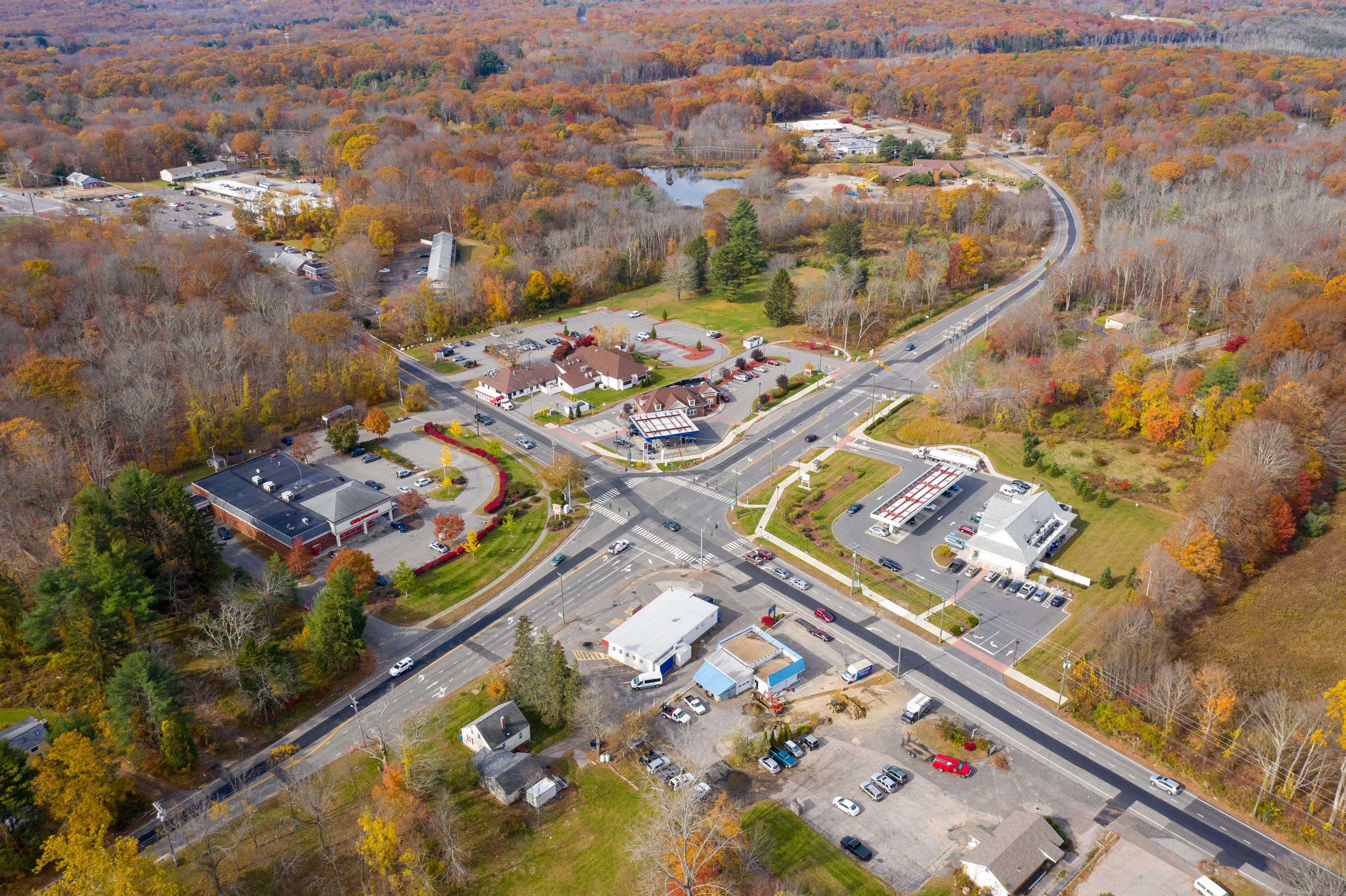 Four Corners, Town of Mansfield, CT - Opportunity Zone