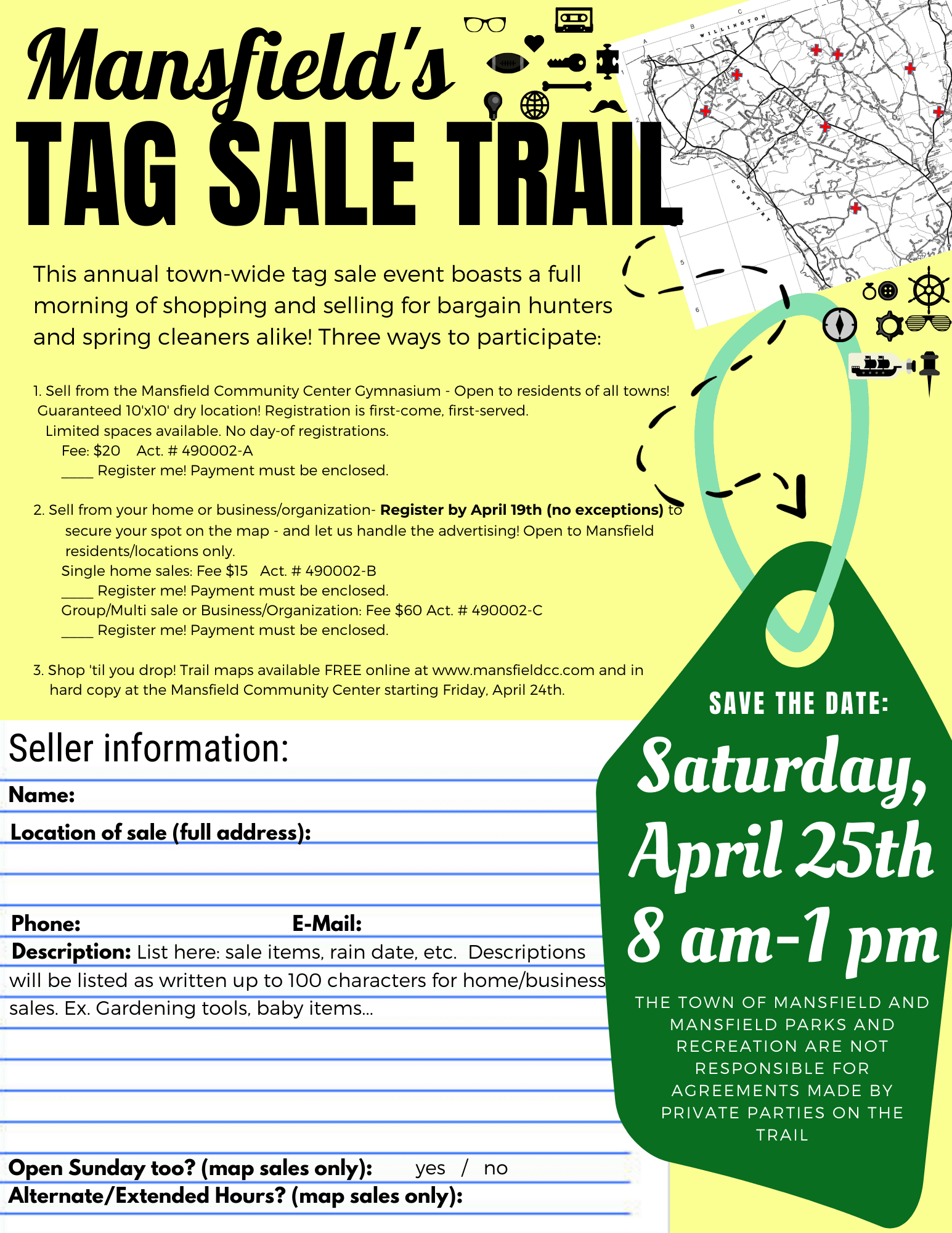Mansfield's Tag Sale Trail!