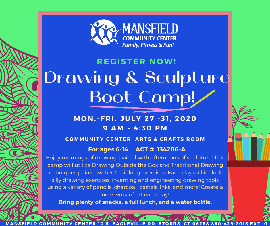 Drawing Sculpture Camp